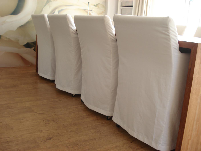 8 witte stoelhoezen 2   Naaiatelier Bianca van Gool
